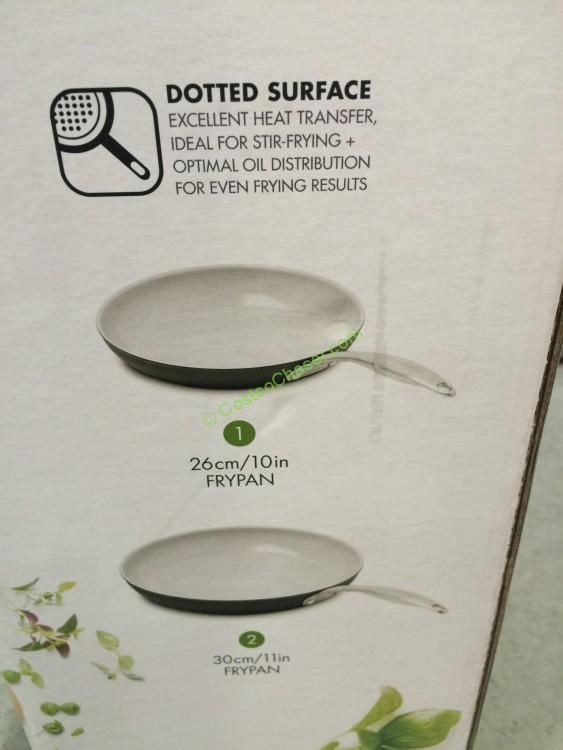 Greenpan 2pk Ceramic Non Stick Skillets Costcochaser