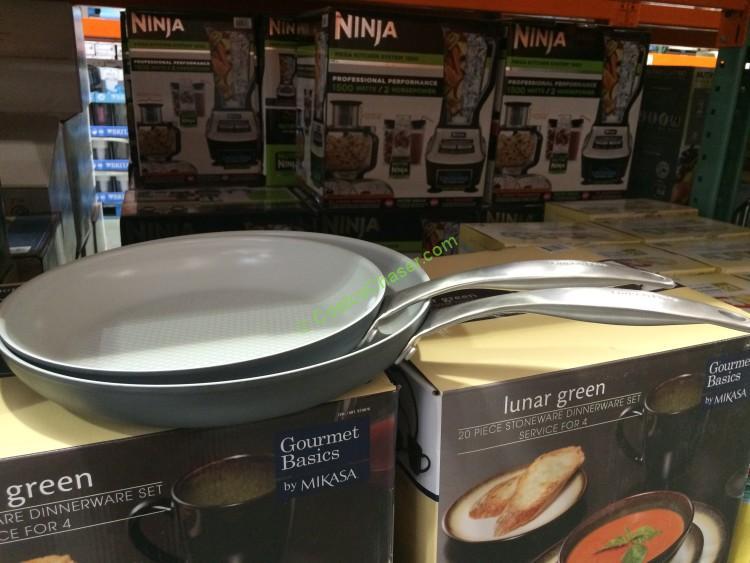 Greenpan 2pk Ceramic Non Stick Skillets Costcochaser