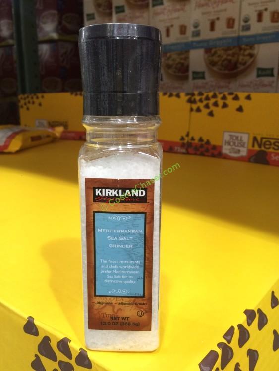 Kirkland Signature Mediterranean Sea Salt 13 Ounce Grinder