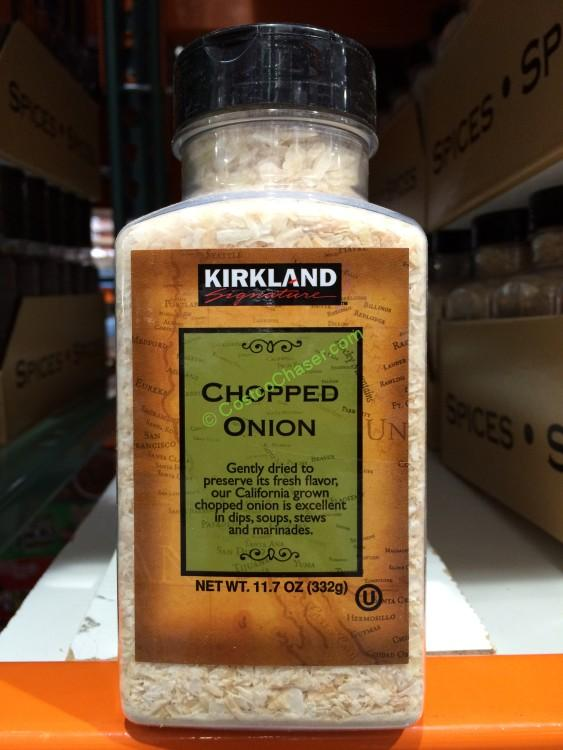 Kirkland Signature Chopped Onion 117 Ounce Containers Costcochaser