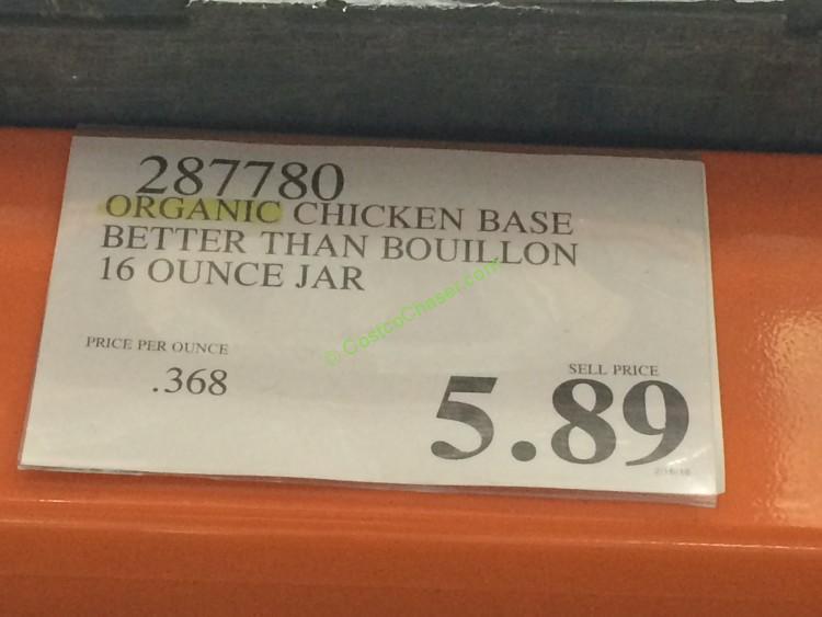 Better Than Bouillon Organic Chicken Base 16 Ounce Jar