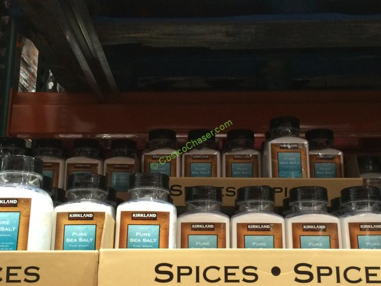 Kirkland Signature Pure Sea Salt 30 Ounce Container