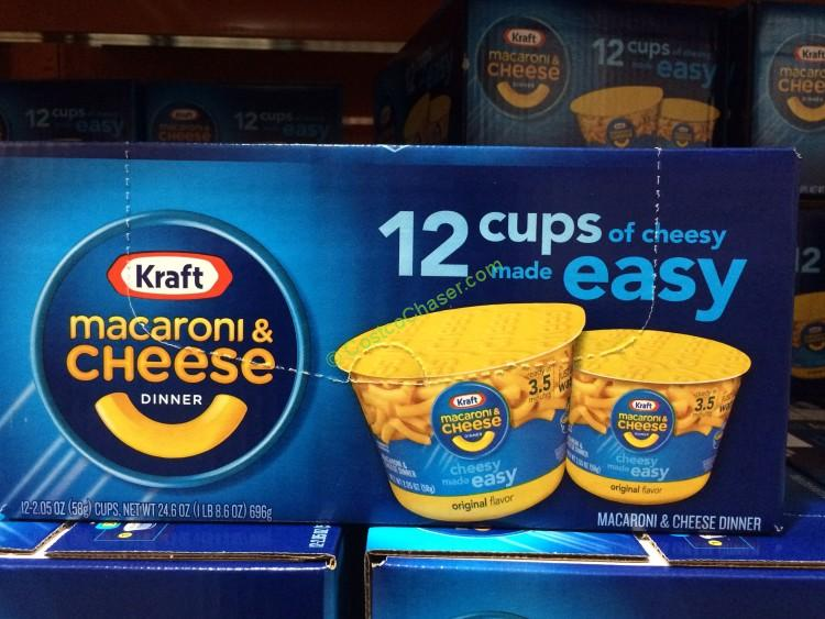Kraft Easy Mac Cups 12/2.05 Ounce Cups