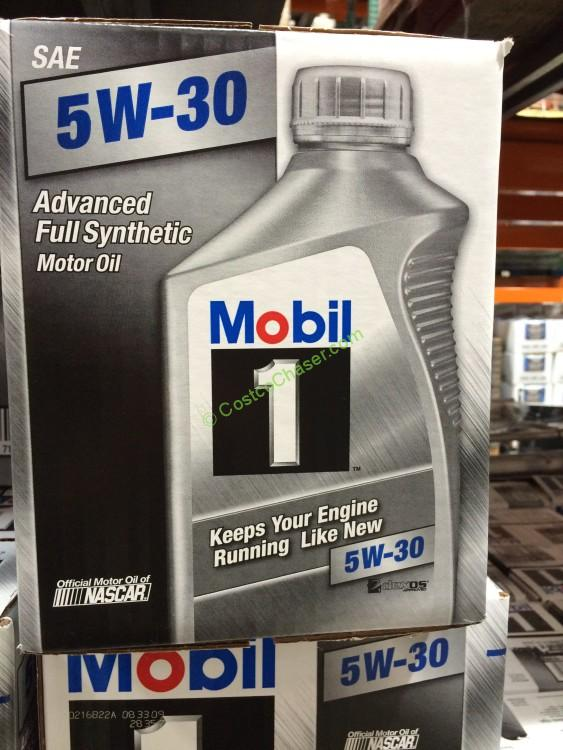 Mobil 1 5w30 5w20 synthetic oil 6 1 quart bottles for How long does synthetic motor oil last