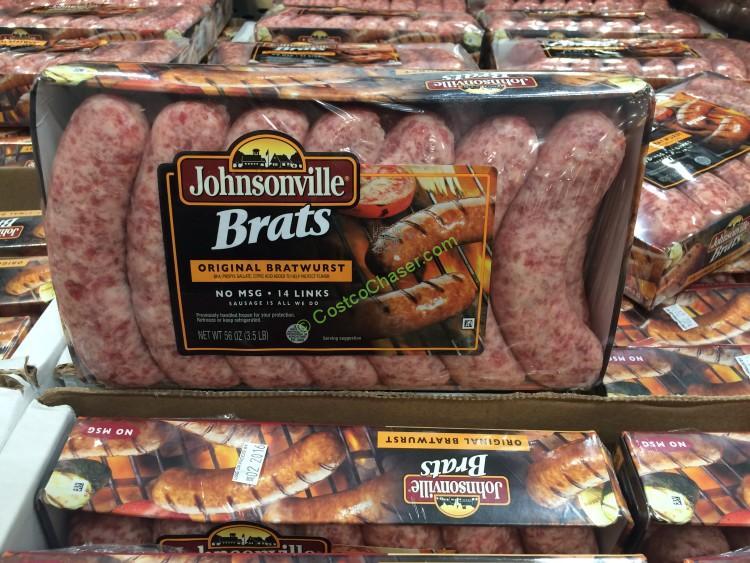 Johnsonville Original Bratwurst 56 Ounce Package