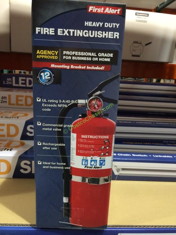 First Alert Fire Extinguisher FE3A40GRC 5 LBS