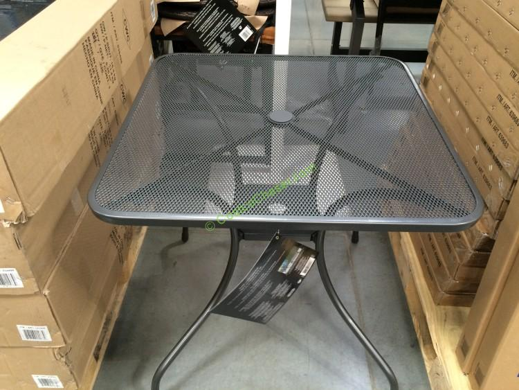 Sunvilla Micro Mesh Commercial Bistro Table Costcochaser