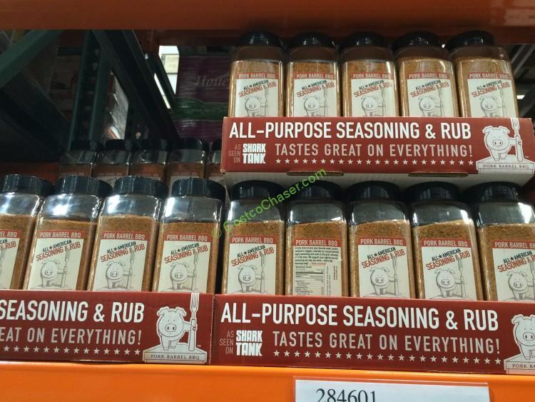 Pork Barrel BBQ Dry Rub Seasoning 19 Ounce Jar