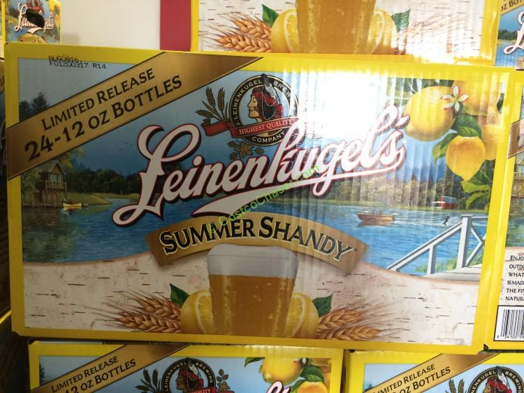 Leinenkugel Summer Shandy 24/12 Ounce Bottles