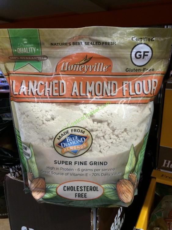 Honeyville Farmers Blanched Almond Flour 3 Pound Bag
