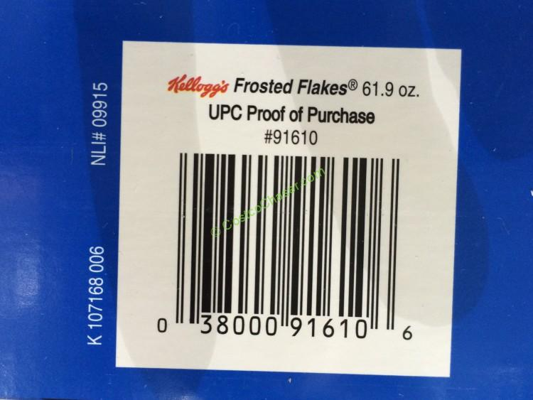 Kellogg S Frosted Flakes 61 9 Ounce Box Costcochaser