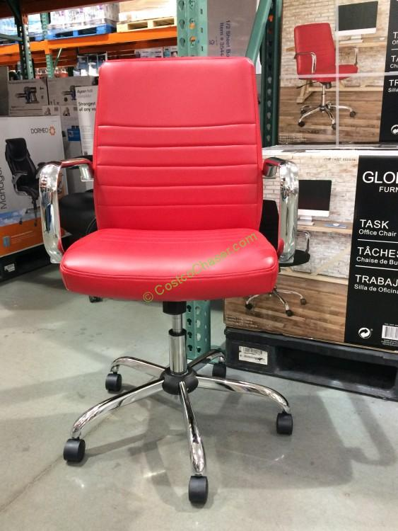 Costcou2014460016 Global Furniture Task Chair Bounded Leather