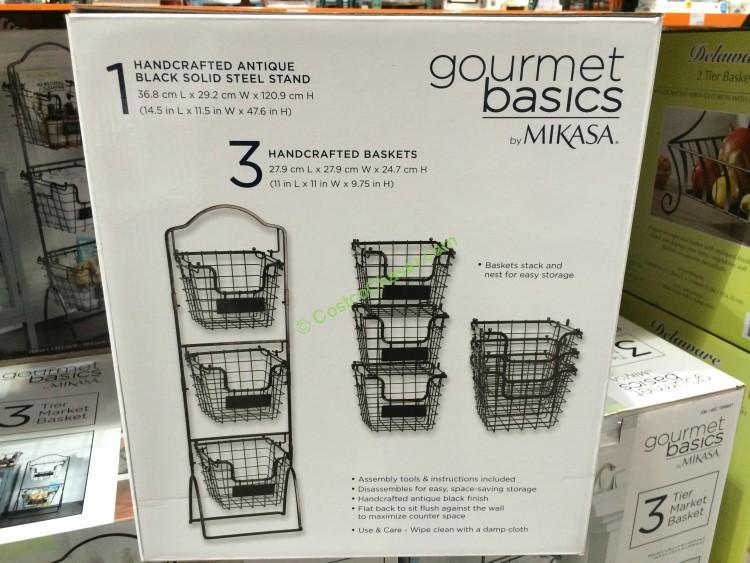 Costco-1049037- Gourmet-Basics-by-Mikasa-3-Tier-Basket-back
