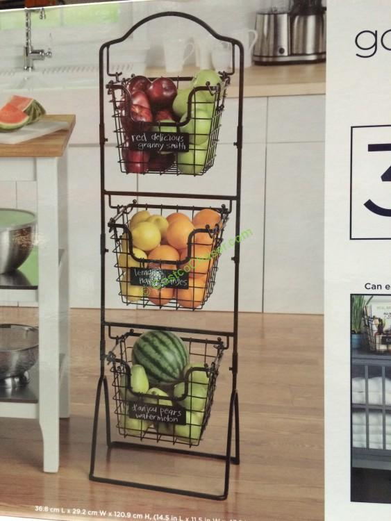 3 Tier Basket Stand Costco Home Ideas