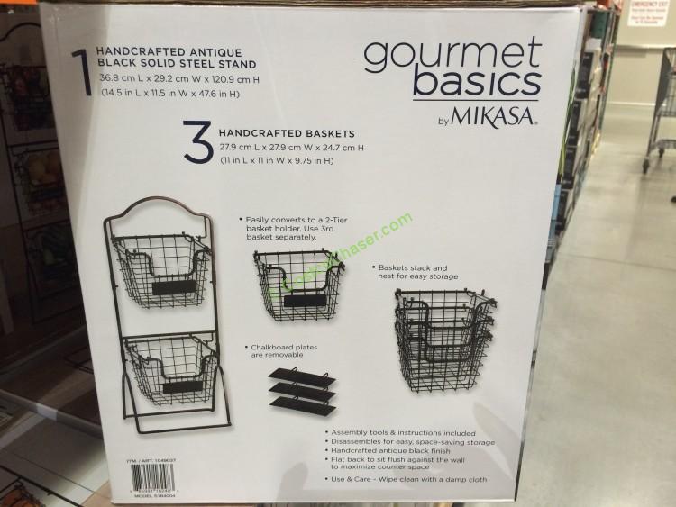 Costco-1049037- Gourmet-Basics-by-Mikasa-3-Tier-Basket-spec3