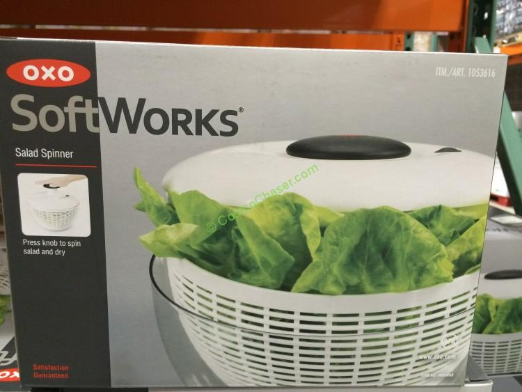 Costco 1053616 Oxo Softworks Salad Spinner Box Costcochaser