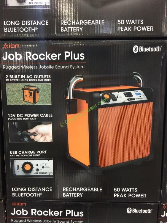 ION Job Rocker Plus Wireless Speaker IPA 74