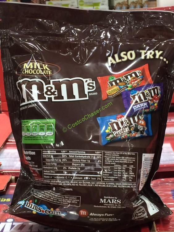 M Amp M S Milk Chocolate Stand Up Pouch 56 Ounce Bag