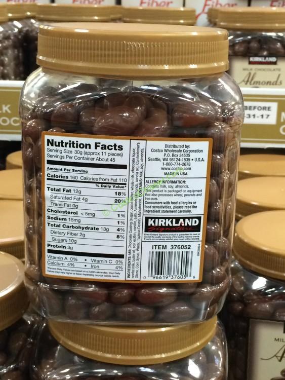 Milk Chocolate Roasted Almonds Jars