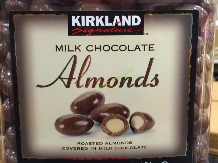 Kirkland Signature Chocolate Almonds 48 Ounce Jar – CostcoChaser