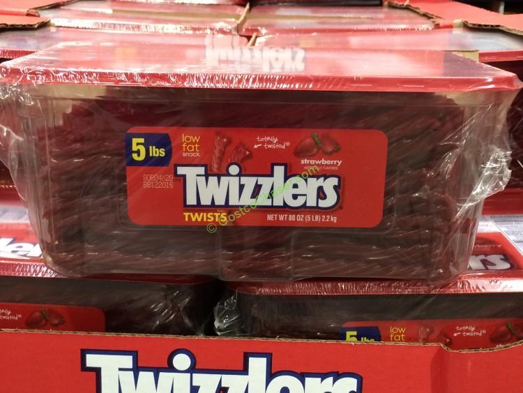 Hershey Company Strawberry Twizzlers 5 Pound Tub