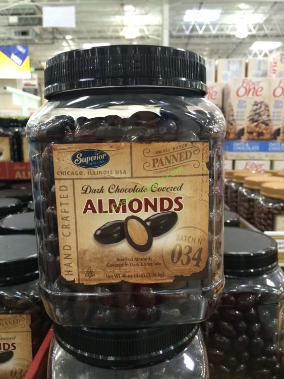 Kirkland Dark Chocolate Covered Almonds With Sea Salt