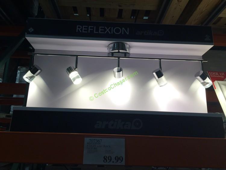 Reflexion 5-Light LED Track Fixture Model# 103B-AMPC2 – CostcoChaser