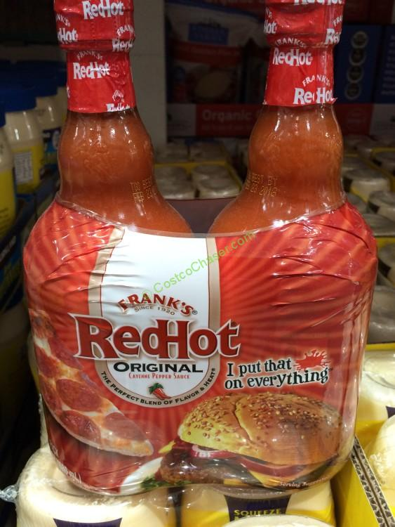 Frank's Red Hot Sauce 2/23 Ounce Bottles