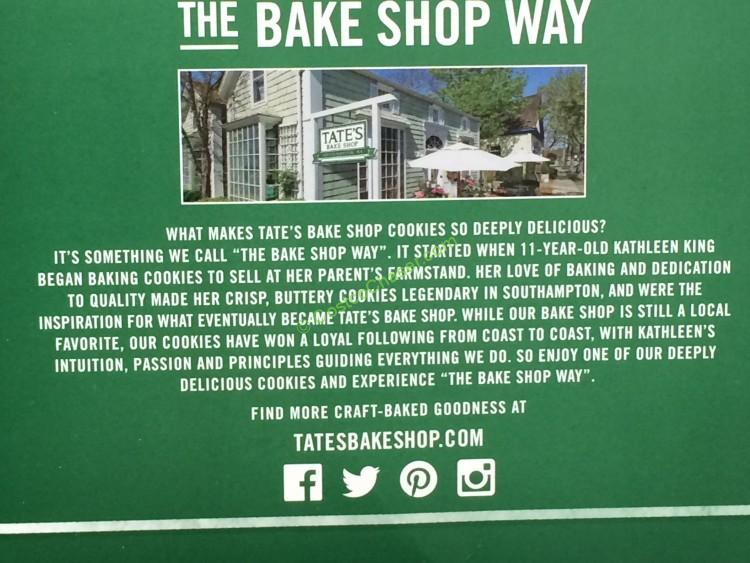 Tate S Bake Shop Chocolate Chip Cookies 21 Ounce Box
