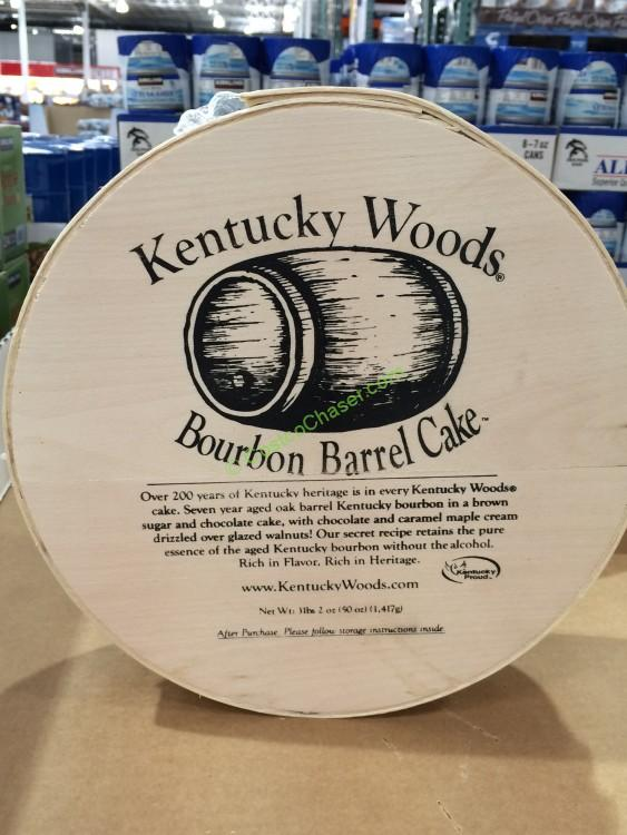 Kentucky Woods Bourbon Barrel Cake 50 Ounce Costcochaser