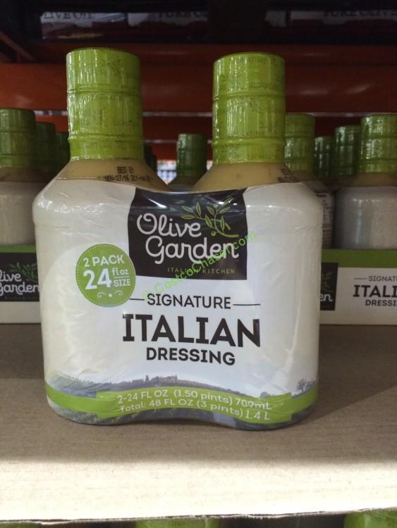Olive garden italian dressing 2 24 ounce bottles costcochaser for Olive garden italian dressing recipe