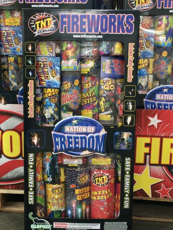 Costco 1039047 Tnt Fireworks Nation Of Freedom Fireworks