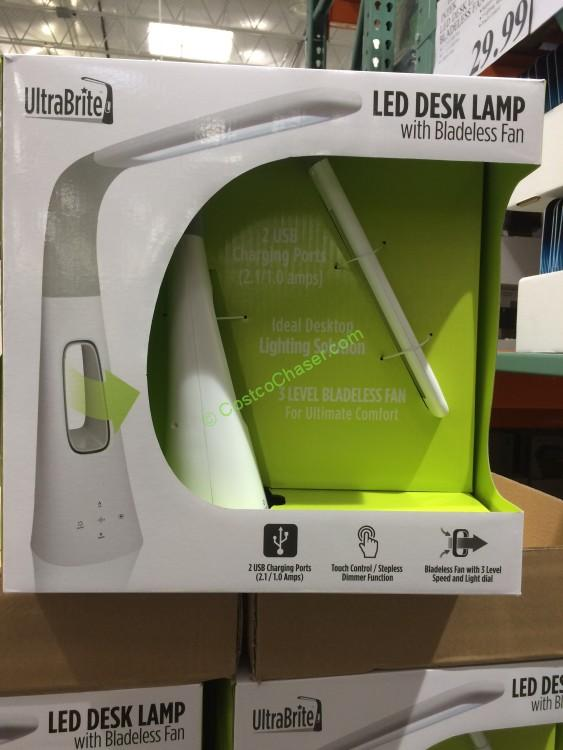 - Intek Led Desk Lamp With Bladeless Fan Model# SL9066-2 – CostcoChaser