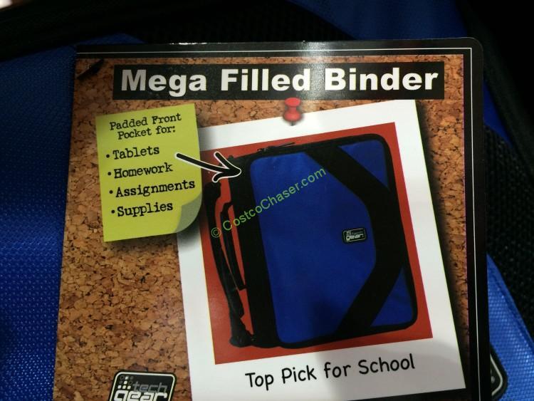 "Tech Gear Filled Binder 2"" D Ring – CostcoChaser"