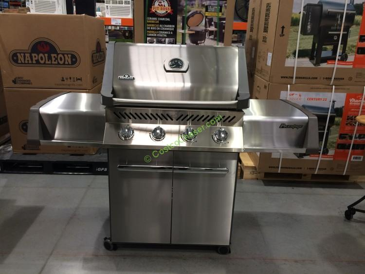 Napoleon P500PSS Stainless Steel LP Grill