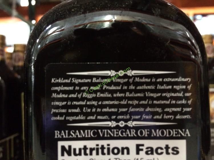 Kirkland Signature Balsamic Vinegar 33 8 Ounce Bottle Costcochaser