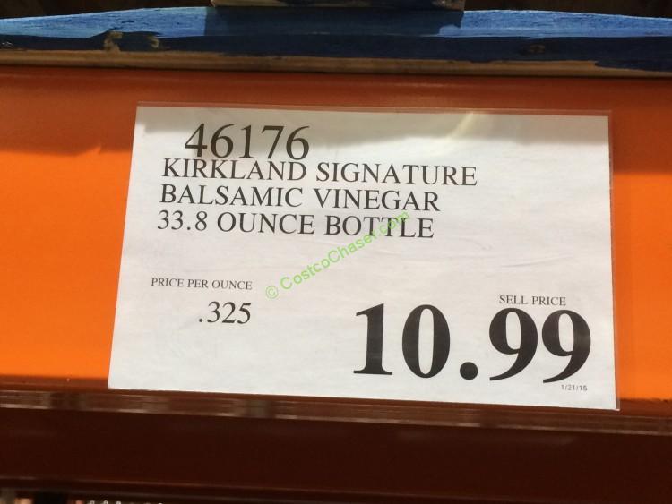 Kirkland Signature Balsamic Vinegar 33 8 Ounce Bottle