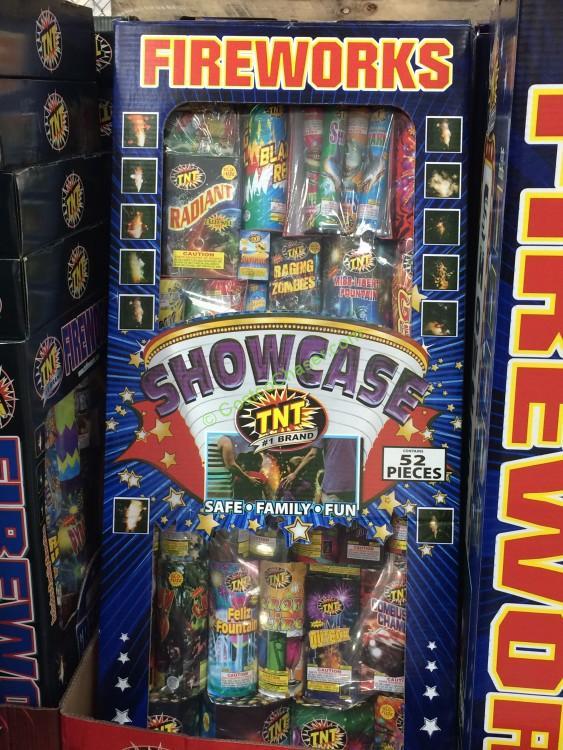 Costco 595622 Tnt Showcase Fireworks Assortment Box