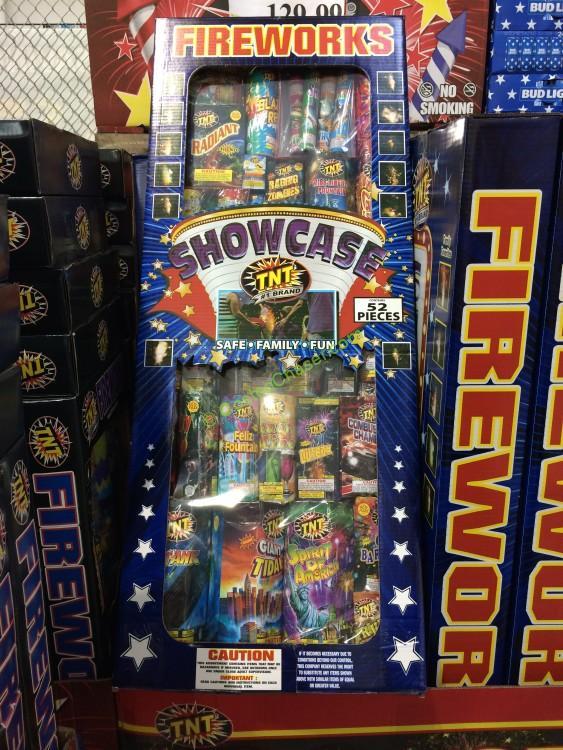 TNT Showcase Fireworks Assortment