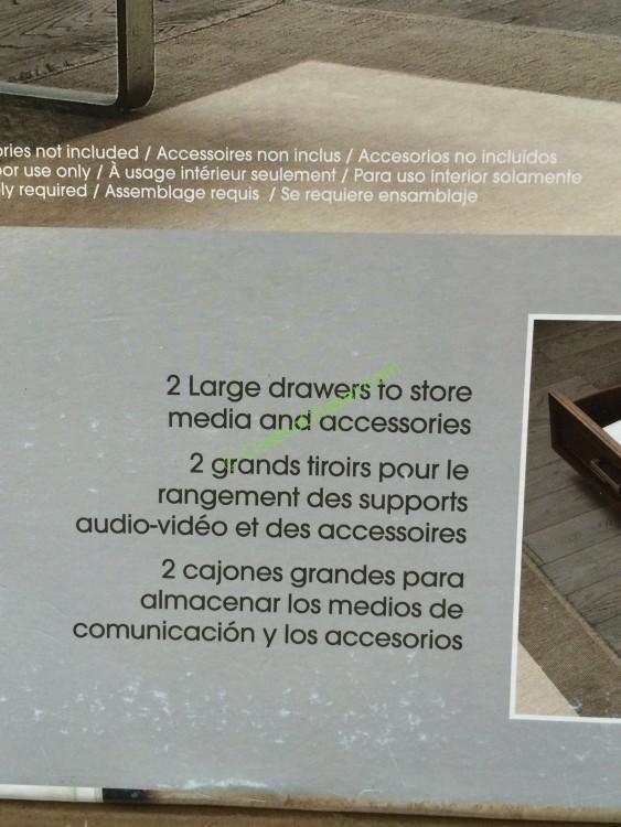 costco bayside furnishings 56 3 in 1 stand item