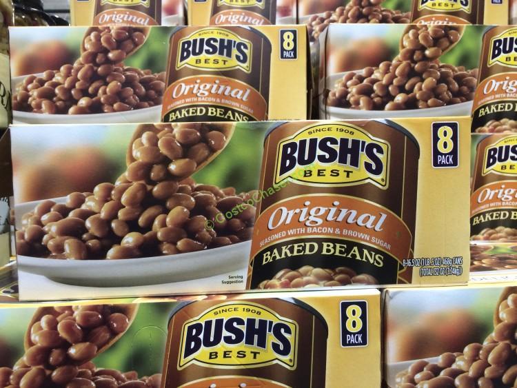 Bush's Baked Beans 8/16.5 Ounce Cans