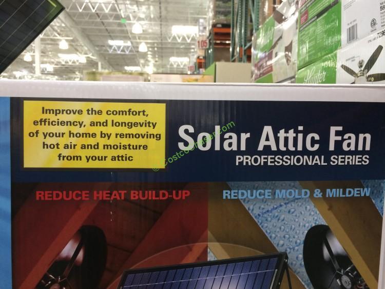 Costco 892670 Us Sunlight Solar Attic Fan 20w Name