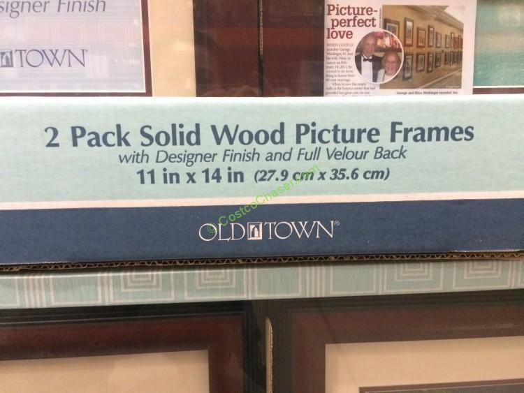 Old Town 11 X 14 Designer Wood Frames 2 Pack Model 27436