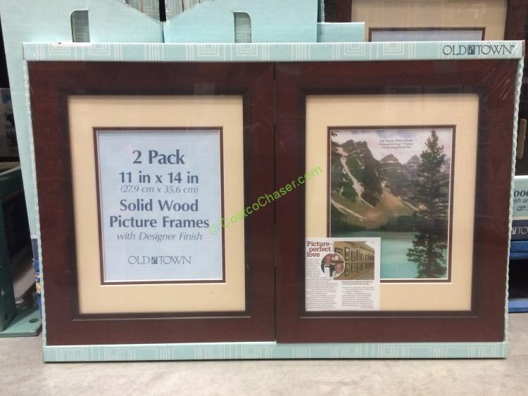 Old Town 11 X 14 Designer Wood Frames 2 Pack Model 27436