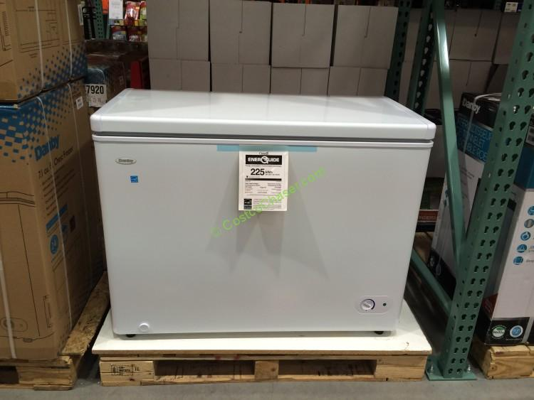 Danby Chest Freezer 7.1 Cubic Foot Model# DCF071A3WDB