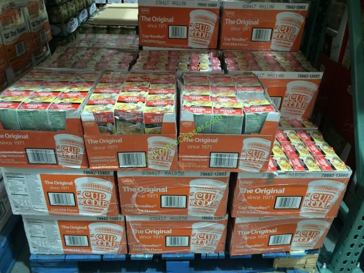 Nissin Chicken Cup of Noodles 24/2.5 Ounce Cups