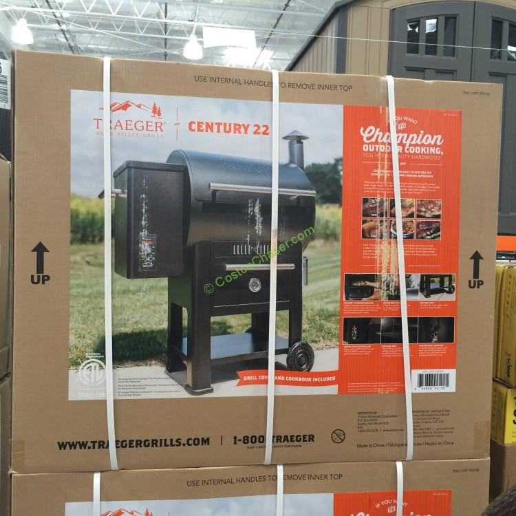 Costco 992154 Traeger Century 22 Wood Pellet Grill With