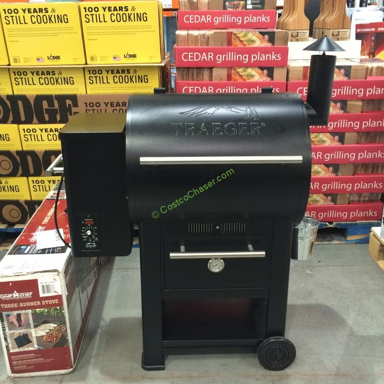 Costcochaser: Traeger Century 22 Wood Pellet Grill With Warming Drawer