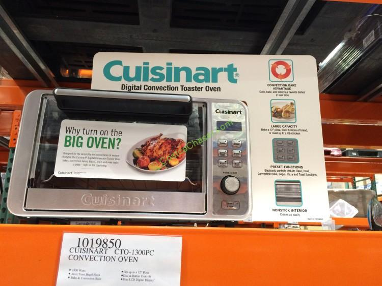 Cuisinart Digital Convection Toaster Oven Model CTO 1300PC