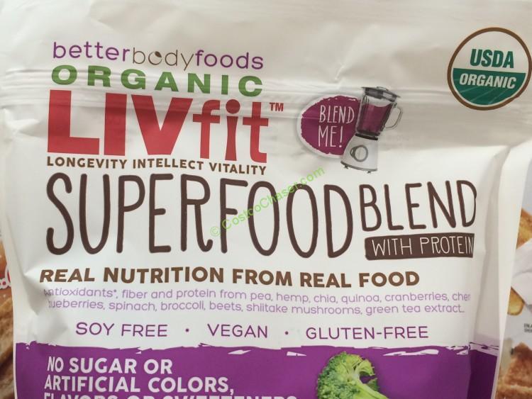 Livfit Organic Superfood Blend 25 4 Ounce Bag Costcochaser